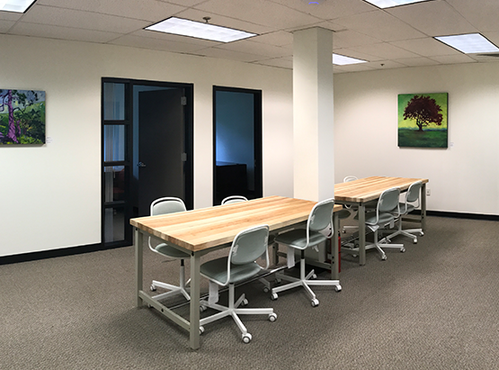 Open Desk Space